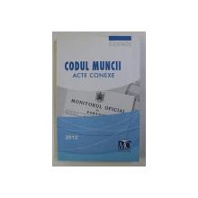 CODUL MUNCII - ACTE CONEXE , EDITIA IANUARIE 2012