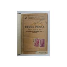 CODUL PENAL DIN 18 MARTIE 1936 - CUPRINZAND TOATE MODIFICARILE PANA LA 1 IULIE 1943