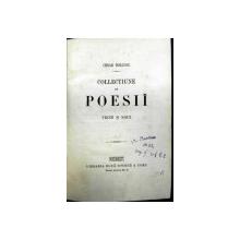 Colectiune de poezii   -Cesar Bolliac