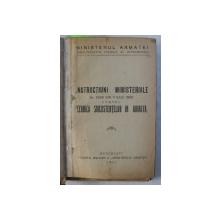 COLEGAT DE 6 CARTI NECESARE OFITERILOR DE INTENDENTA SI ADMINISTRATIE MILITARA , 1927 - 1944