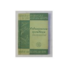 COLONIZAREA SI OCROTIREA FAZANULUI , 1955