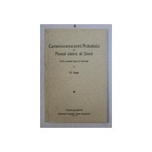 COMEMORAREA UNIRII ARDEALULUI SI ROSTUL ISTORIC AL UNIRII  - DOUA CUVANTARI TINUTE LA BUCURESTI de N . IORGA , 1933