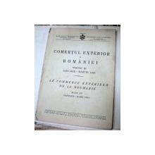 COMERTUL EXTERIOR AL ROMANIEI 1941