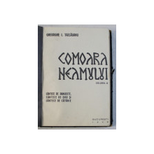 COMOARA NEAMULUI de GHEORGHE I. TAZLAUANU , VOLUMUL III  - CANTECE DE DRAGOSTE , CANTECE DE DOR SI CANTECE DE CATANIE , 1943