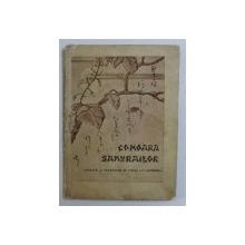 """COMOARA SAMURAILOR SAU CEI PATRUZECI SI SAPTE """" OAMENI PE VALURI """" - DUPA VECHI TEXTE JAPONEZE de G . SOULIE DE MORANT , traducere de MAIOR C. M. SANDOVICI , EDITIE INTERBELICA , LIPSA PAGINA DE TITLU *"""