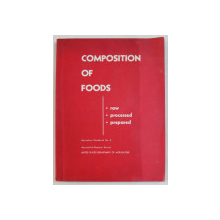 COMPOSITION OF FOODS  - RAW , PROCESSED , PREPARED by BERNICE K. WATT and ANNABEL L . MERRILL , 1963
