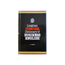 CONCISE DICTIONARY OF BUSINESS ENGLISH by J. H. ADAM , 1994