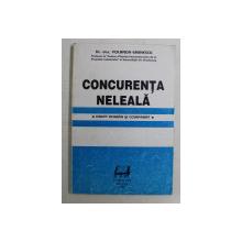 CONCURENTA NELEALA , DREPT ROMAN SI COMPARAT de YOLANDA EMINESCU , 1993