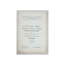 CONCURS HIPIC ORGANIZAT DE BRIGADA IV ROSIORI  IN FOLOSUL 'CRUCEI ROSII' - 1915