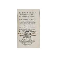 CONFERENCES ECCLESIASTIQUES DU DIOCESE D 'ANGERS , SUR LE MARIAGE  ..par MICHEL PONCET DE LA RIVIERE  , 1727