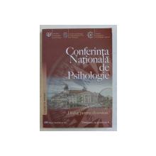 CONFERINTA NATIONALA DE PSIHOLOGIE  ' DIALOG PENTRU DIVERSITATE  ' LUCRARI IN EXTENSO , volum coordonat de MIAHI HOHN , 2008