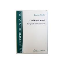 CONFLICTE DE MUNCA  - CULEGERE DE PRACTICA JUDICIARA de BEATRICE MISCHIE , 2010