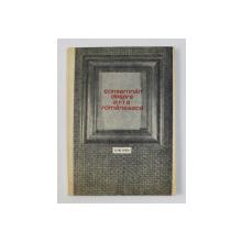 CONSEMNARI DESPRE ARTA ROMANEASCA SEC. XIX-XX de PETRE OPREA , 1978 DEDICATIE*