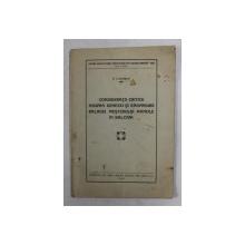 CONSIDERATII CRITICE ASUPRA GENEZEI SI RASPANDIRII BALADEI MESTERULUI MANOLE IN BALCANI de P. CARAMAN , 1934