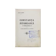 CONSTANTA PITOREASCA CU IMPREJURIMILE EI DE IOAN ADAM - BUCURESTI, 1908