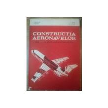 CONSTRUCTIA AERONAVELOR , MANUAL PENTRU LICEE INDUSTRIALE CU PROFIL DE AERONAUTICA , CLASA A XII A de S. GALETUSE , P. MITU , I. PREDOIU , G. STOIAN , Bucuresti