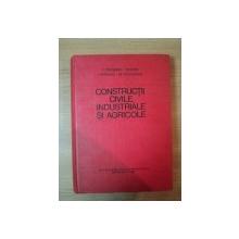 CONSTRUCTII CIVILE , INDUSTRIALE SI AGRICOLE de C. PESTISANU , M. DARIE , L. POPESCU , M. VOICULESCU , 1981