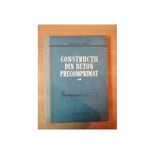 CONSTRUCTII DIN BETON PRECOMPRIMAT de WOLFGANG HERBERG, VOL II  1961