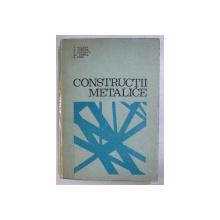 CONSTRUCTII METALICE de C.DALBAN, N.JUNCAN, C.SERBESC, AL.VARGA, S.DIMA , COTORUL ESTE LIPIT CU SCOCI