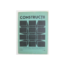 CONSTRUCTII - REVISTA DE INFORMARE SI DEZBATERE TEHNICA , NR. 1 , IANUARIE , 1986