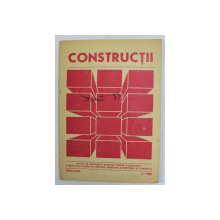 CONSTRUCTII - REVISTA DE INFORMARE SI DEZBATERE TEHNICA , NR. 2 , FEBRUARIE , 1984