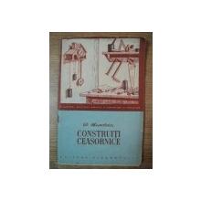 CONSTRUITI CEASORNICE de D. MANOLESCU