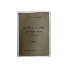 CONTABILITATEA DUBLA IN ADMINISTRATIA ARMATEI de ZAIT THEODOR , 1929