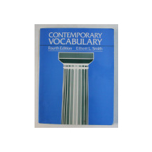 CONTEMPORARY VOCABULARY by ELLIOTT L. SMITH , 1995 , PREZINTA INSEMNARI CU CREIONUL *