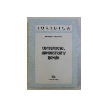 CONTENCIOSUL ADMINISTRATIV ROMAN de VALENTIN I . PRISACARU , 1994