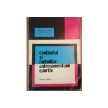 CONTINUTUL SI METODICA ANTRENAMENTULUI SPORTIV-BUC.1971