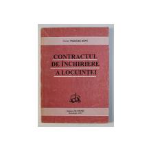 CONTRACTUL DE INCHIRIERE A LOCUINTEI de FRANCISC DEAK , 1997