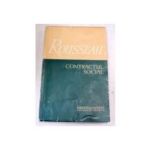 CONTRACTUL SOCIAL-ROUSSEAU  1957