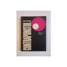 CONTRAPUNCTUL. TRATAT DE POLIFONIE VOCALA CLASICA de KNUD JEPPESEN  1967 * COTOR LIPIT CU SCOTCH