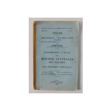 CONTRIBUTION A L 'ETUDES DES HERNIES VENTRALES DES EQUIDES - LEUR TRAITEMENT CHIRURGICAL par BOUTET PAUL - FELIX , 1944