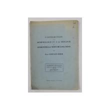 CONTRIBUTION A LA MORPHOLOGIE ET A LA BIOLOGIE DU GOMONTIELLA SUBTULOSA TEOD . par M- LLE CONSTANCE MORUZI , 1941