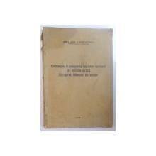 CONTRIBUTIUNI LA CUNOASTEREA BENZINELOR ROMANESTI DE DISTILATIE DIRECTA. EXTRAGEREA TOLUENULUI DIN BENZINE de AUREL P. CONSTANTINESCU  1938