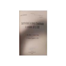 CONTRIBUTIUNI LA ISTORICUL TRANSILVANIEI IN SEC. XII- XIII- IOSIF SCHIOPUL  1932