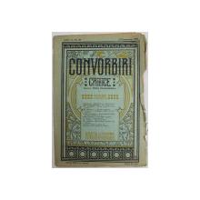 CONVORBIRI CRITICE  - REVISTA LITERARA BIMENSUALA , ANUL II , NO. 20, 15 DECEMBRIE  1908