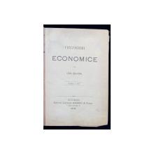 CONVORBIRI ECONOMICE de ION GHICA, EDITIA A TREIA - BUCURESTI, 1879