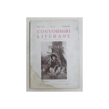 CONVORBIRI LITERARE , ANUL LXXIV  , NUMARUL 4   , IULIE  , APRILIE ,1940 , PREZINTA  HALOURI DE APA *