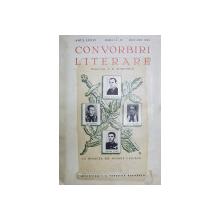 CONVORBIRI LITERARE , ANUL LXXIV , NUMERELE 11 - 12  , NOV.  - DEC. 1941