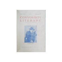 CONVORBIRI LITERARE , ANUL LXXIV , NUMERELE 2 / 3 / 5- 6  FEBRUARIE  - MAI 1941 , COLEGAT DE TREI REVISTE *