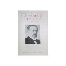 CONVORBIRI LITERARE , ANUL LXXVI  - NUMARUL 1  / 7 - 8 / 9-10  / 11 - 12 , COLEGAT DE PATRU REVISTE . APARUTE IN PERIOADA IANUARIE  - DECEMBRIE 1943