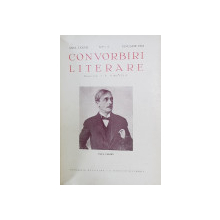 CONVORBIRI LITERARE , ANUL LXXVII , NUMERELE 1 - 2 , COLEGAT DE DOUA REVISTE , APARUTE IN PERIOADA IANUARIE - FEBRUARIE 1944