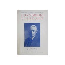 CONVORBIRI LITERARE , NUMERELE 7  - 8  / 11 - 12 , COLEGAT DE DOUA REVISTE * , APARUTE IN PERIOADA IULIE  - DEC . 1942