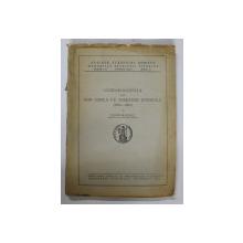 CORESPONDENTA LUI ION GHICA CU DIMITRIE STURDZA ( 1860 - 1880 ) de VICTOR SLAVESCU , 1943 , PREZINTA HALOURI DE APA *