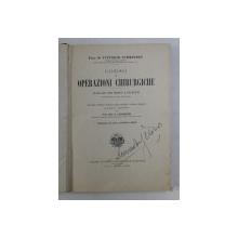 CORSO DI OPERAZIONI CHIRURGICHE di PROF . DR . VITTORIO SCHMIEDEN , 1992