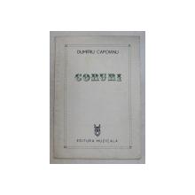CORURI , POEME , CINTECE PATROTICE , CORURI PE TREI VOCI EGALE de DUMITRU CAPOIANU , 1984