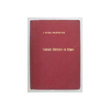 COURANTS LITTERAIRES EN FRANCE  - ABREGE DE LITTERATURE FRANCAISE par PERE MICHEL AMGEWERD OSB , 1963