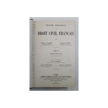 COURS DE DROIT CIVIL FRANCAIS , TOME DIXIEME , CINQUIEME EDITION par MM. AUBRY et RAU , 1918